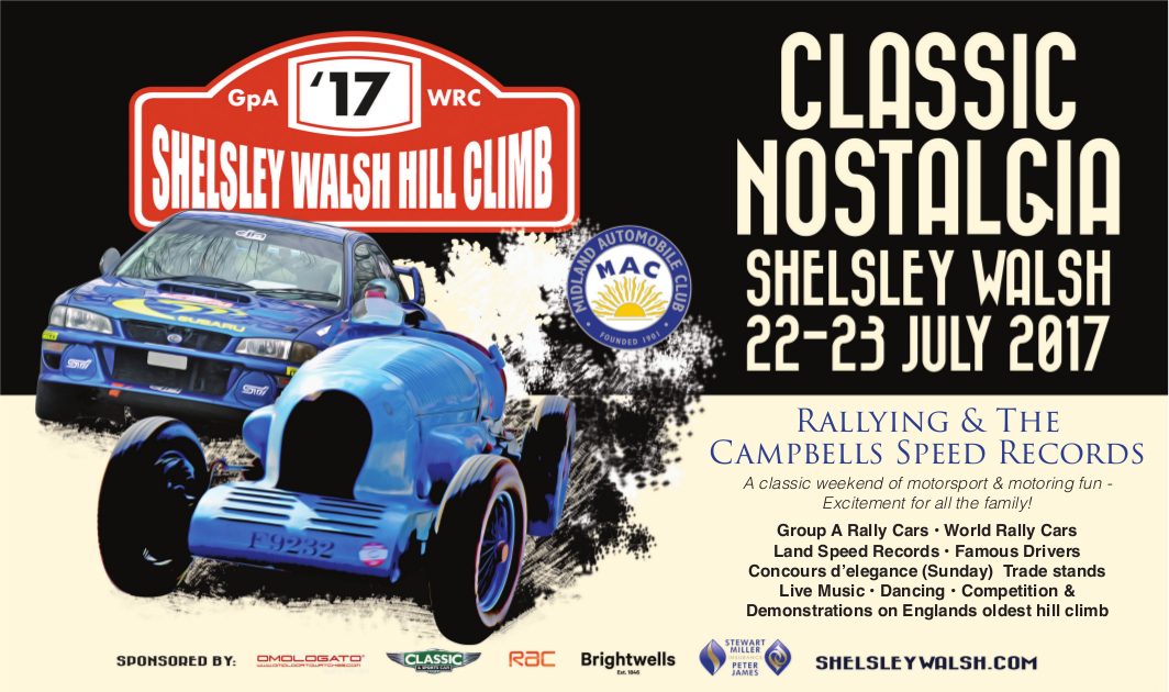 Wye Dean go to Shelsley Walsh for the Classic Nostalgia day