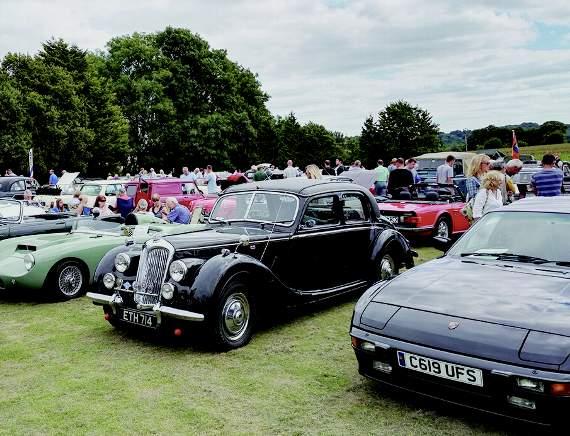 Brunel Group - Norton Radstock Classic Vehicle Club Camerton Gathering