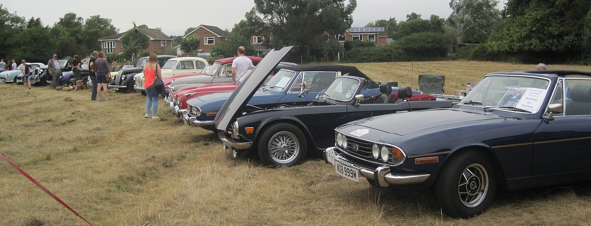 Binfield Heath 69th Annual Flower Show (& Dog show) with Classic Car display