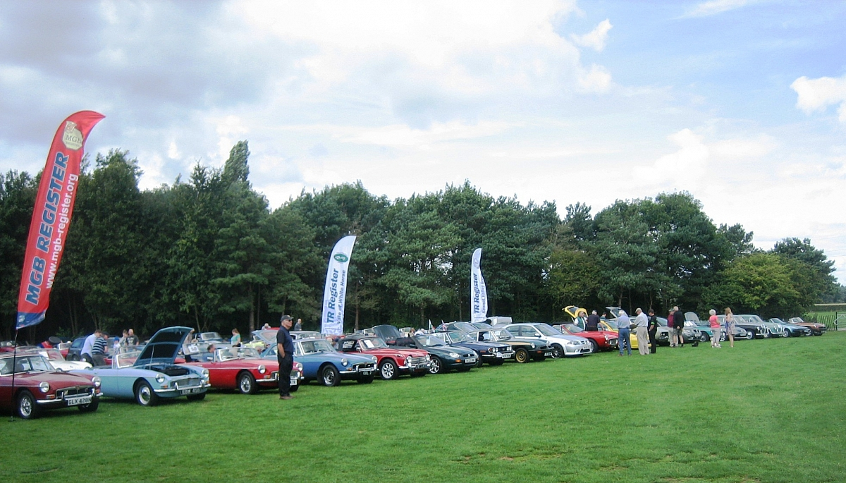 Kennet Valley & Vale of White Horse Groups 'RAID' MG Summer Picnic