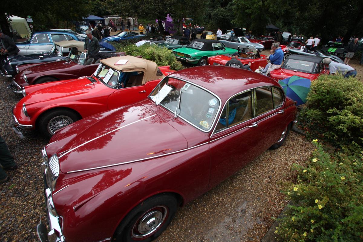 Classic Car Show - Twyford Waterworks, Hampshire.
