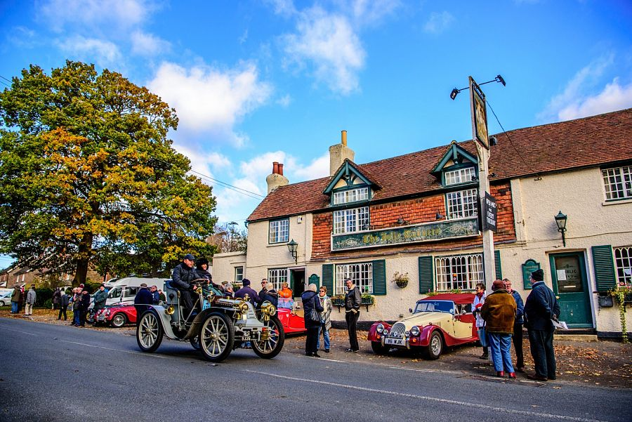 Kent Group | London to Brighton Veteran Car Run