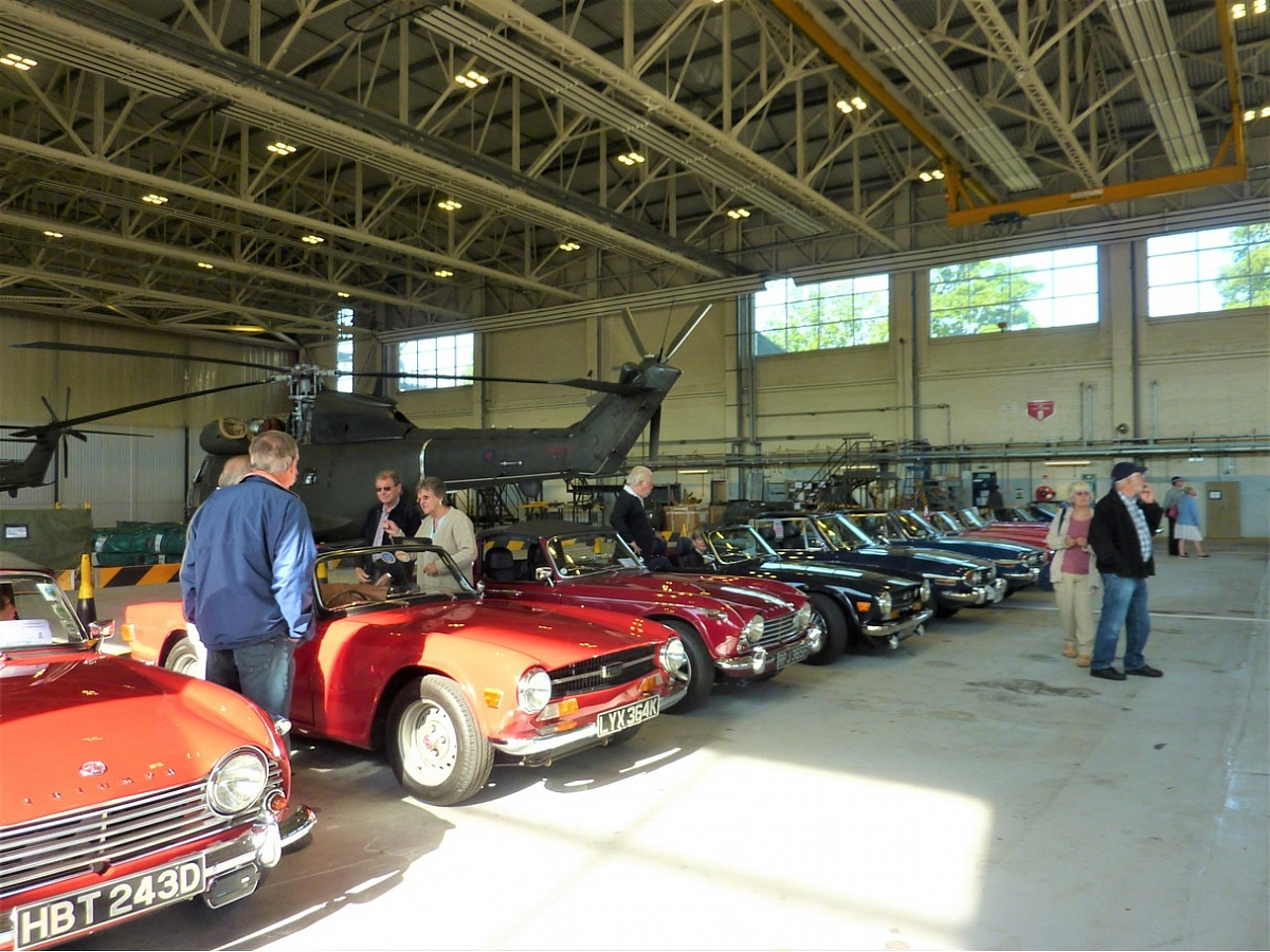 Kennet Valley & Chiltern TR Group attends RAF Benson Family Day & Classic Car show