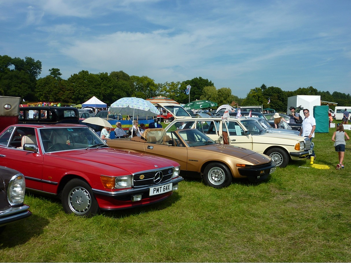 Kennet Valley TR Group July Mid Monthly option - Woodcote Rally