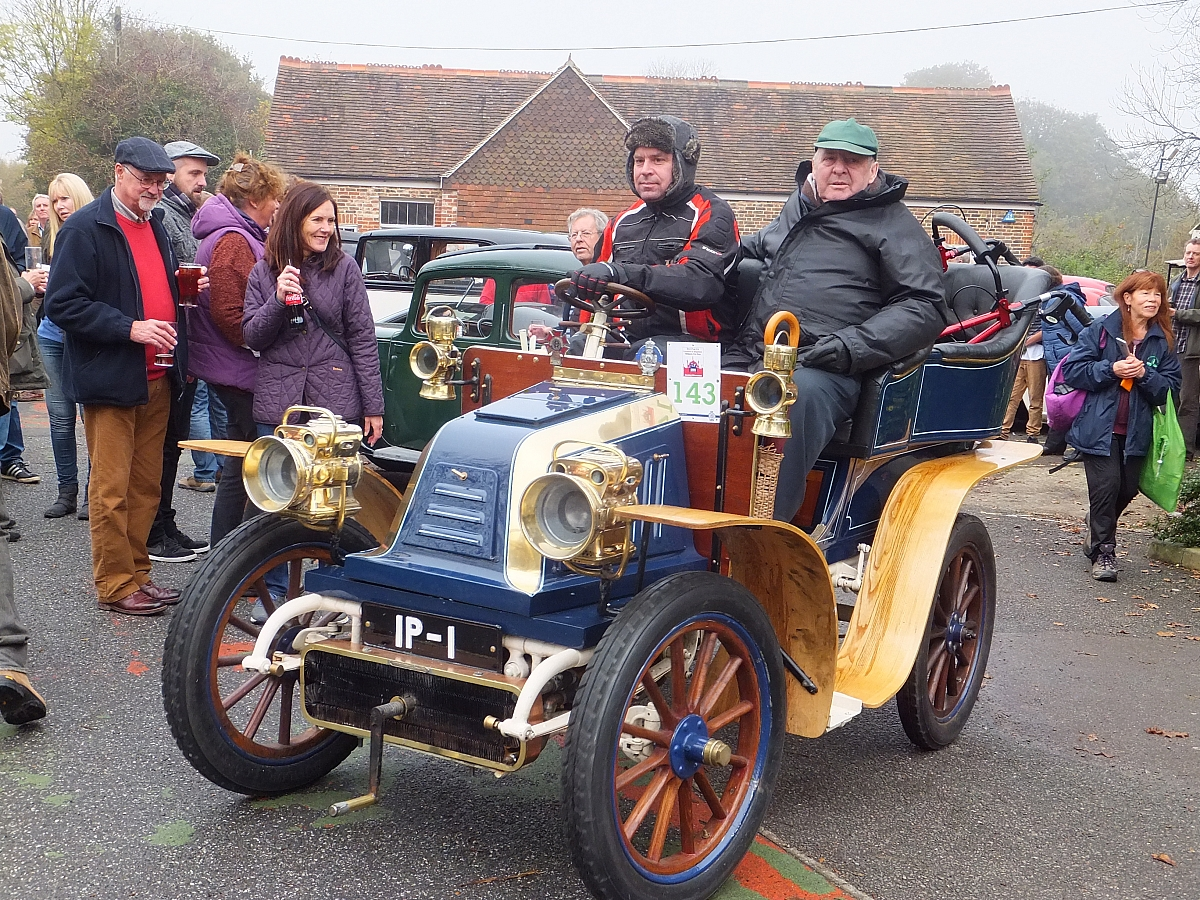 Sunday 5th November London to Brighton Veteran Car Run - Entries closed