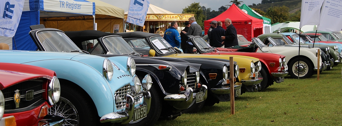 The TR Register's Chiltern area cook up a storm at Kop Hillclimb.