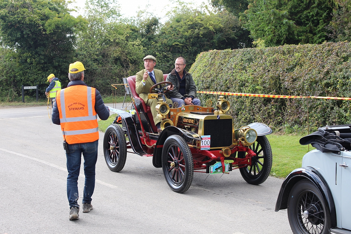 The TR Register\'s Chiltern area cook up a storm at Kop Hillclimb.