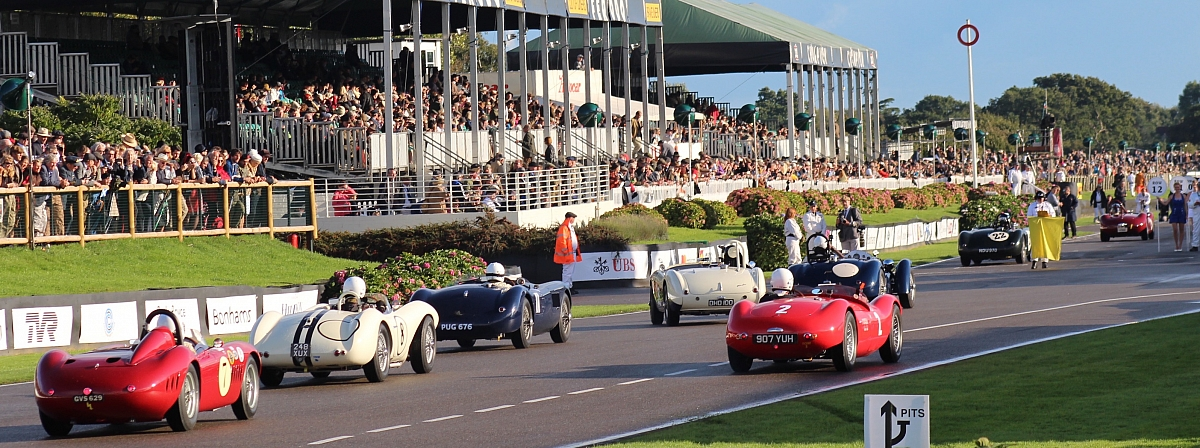 The 2017 Goodwood Revival - racing and rain!