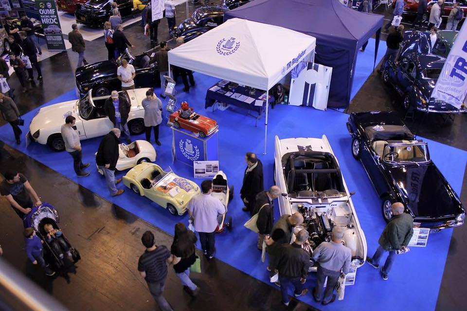 TR Youth stand at the Classic Motor Show, Birmingham NEC