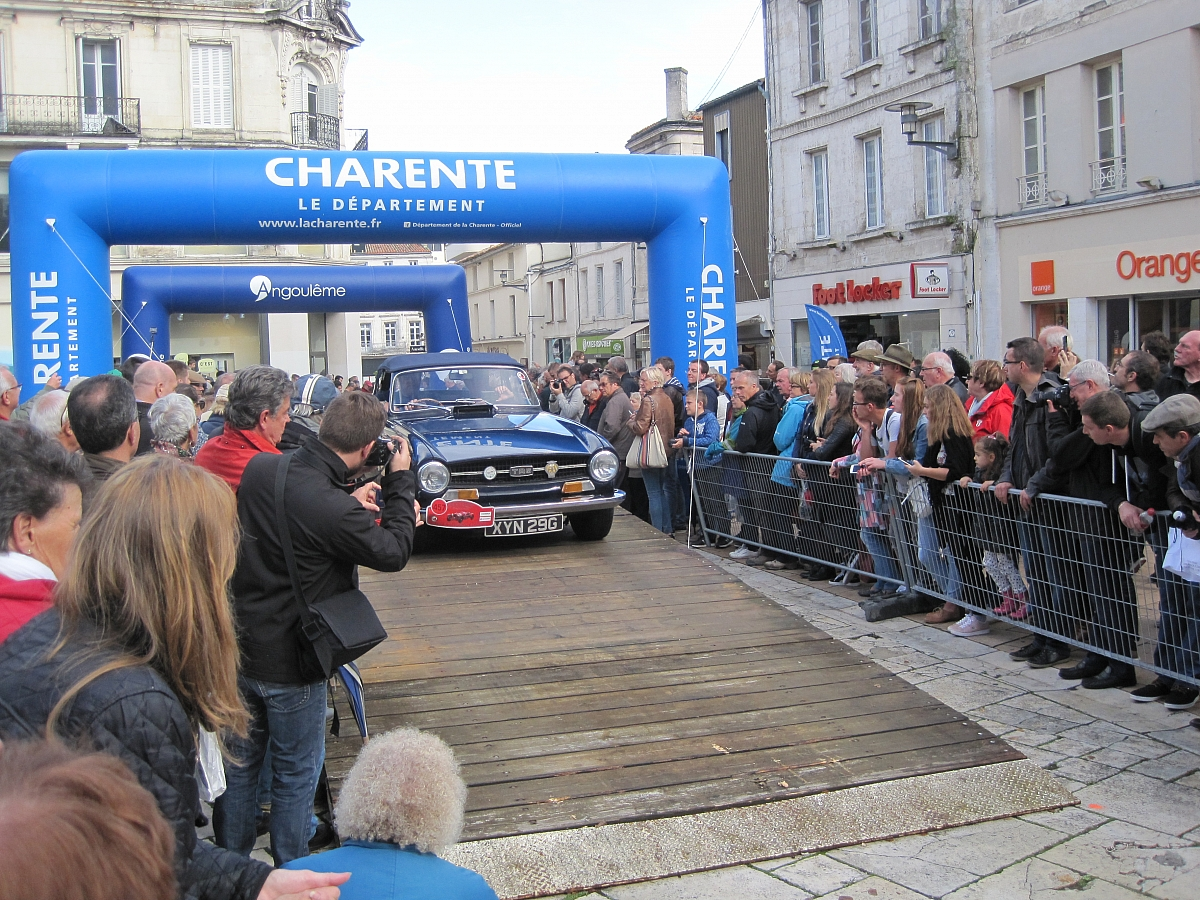 Kennet Valley TR Group Cars take on Le Internationale Rallye des Charente, Angouleme