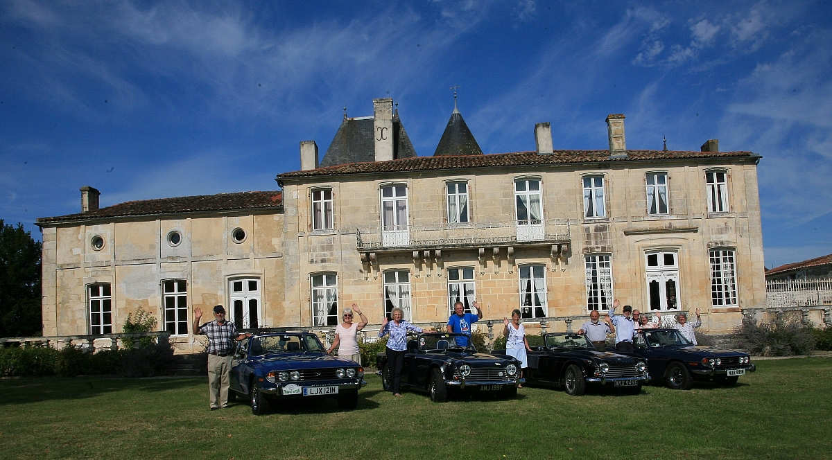 Kennet Valley TR Group venture on a French Tour for 2017