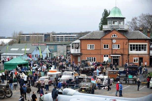London Group New Years Day at Brooklands 1st January 2018