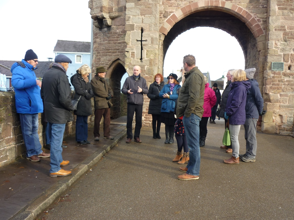 A visit to the Historic town of Monmouth