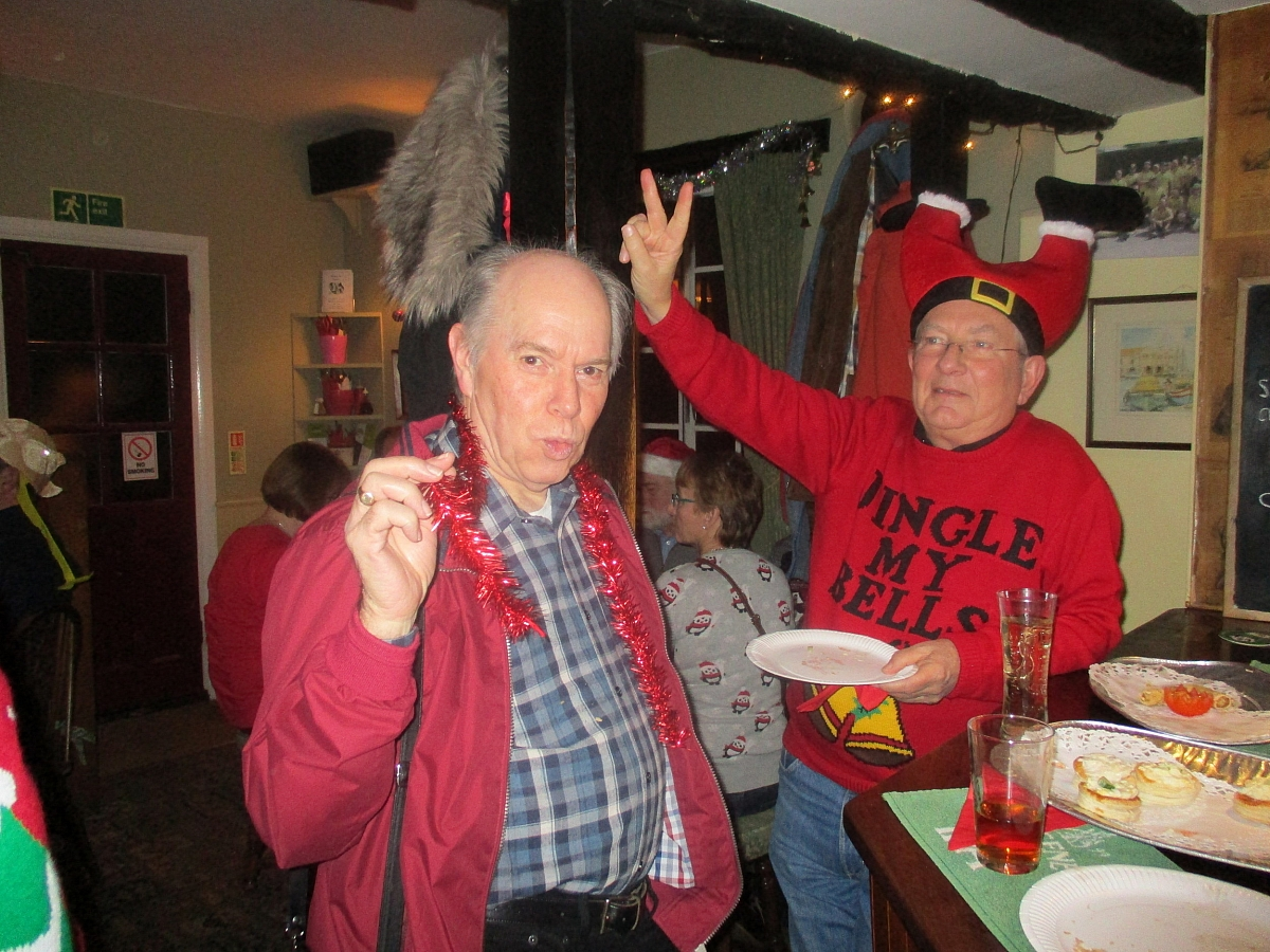 East Saxons - Christmas Nibbles at the 3 Compasses