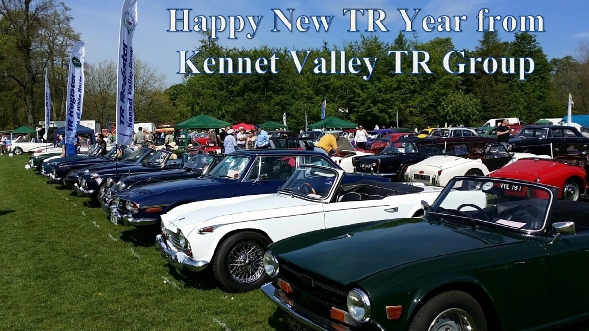 Kennet Valley TR Group - First Club Night of 2020