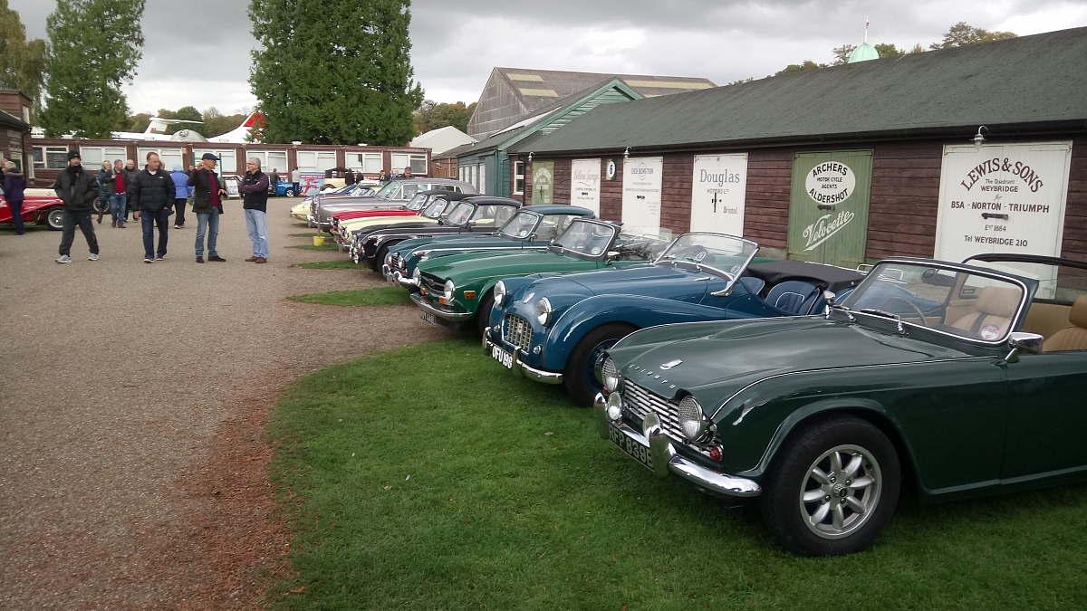 London Group - Brooklands Classic Spring Breakfast 20th May 2018
