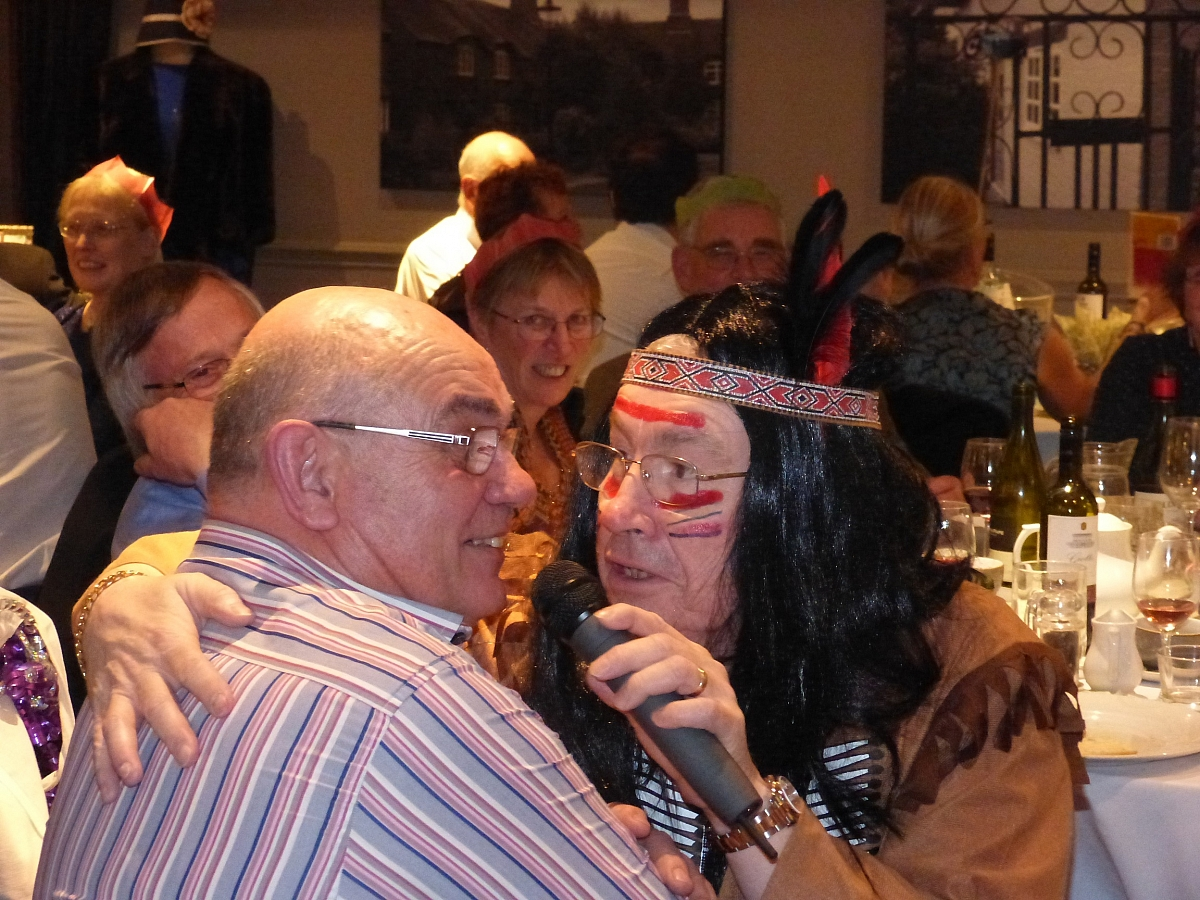 Leicestershire TR Group New Year's dinner was a real TRiumph of organisation