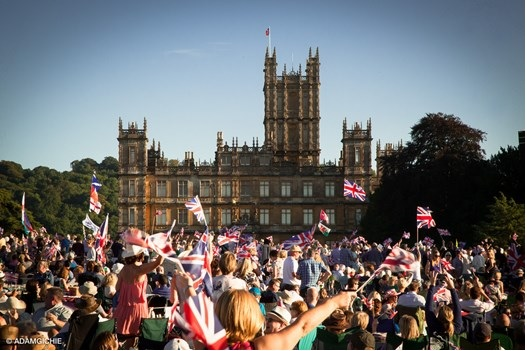 Kennet Valley TR Group Picnic at the Battle Proms, Highclere