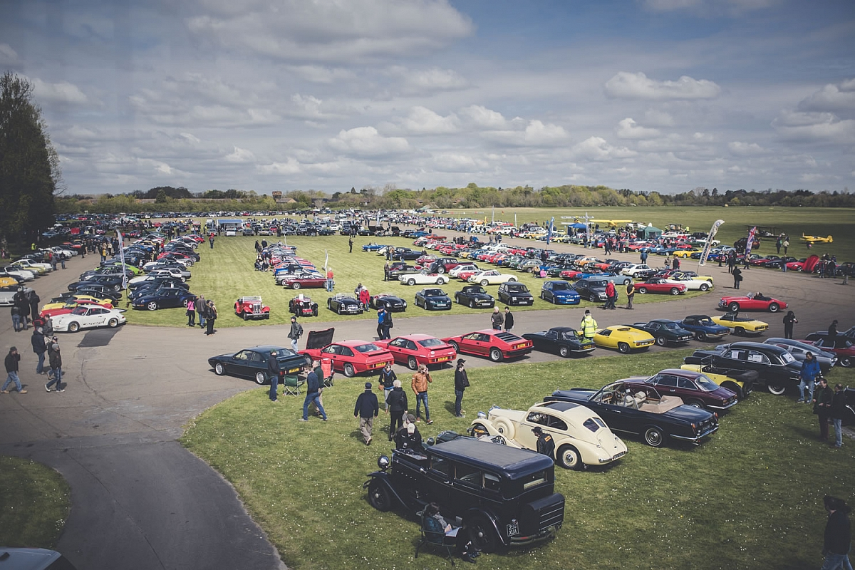 Leicestershire TR Group Drive-It day to Bicester Heritage