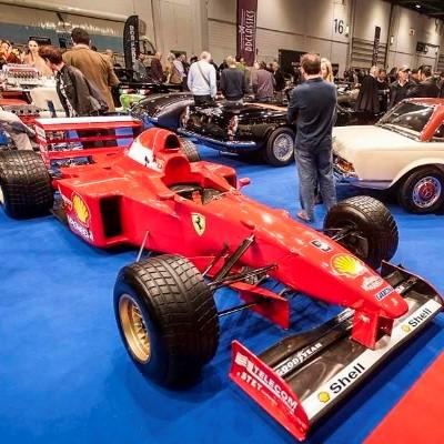 London Group London Classic Car Show ExCel Centre London