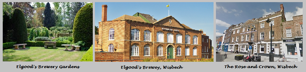 Elgood's Brewery Visit, Wisbech. 23rd - 24th May 2018