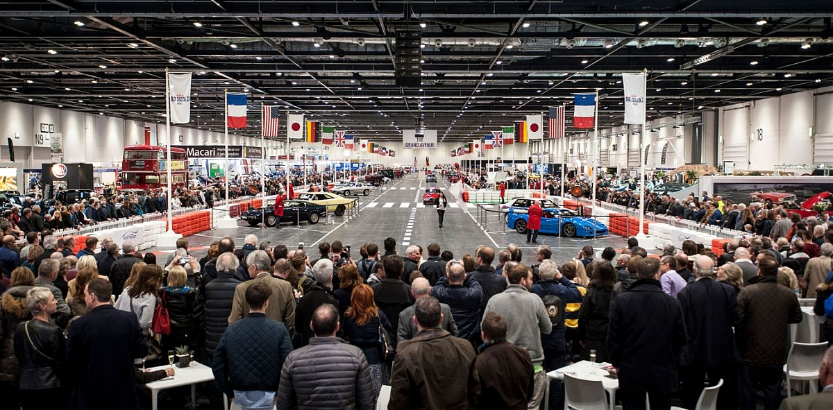 Discounts on walk up tickets available as TR Register debuts at London Classic Car Show