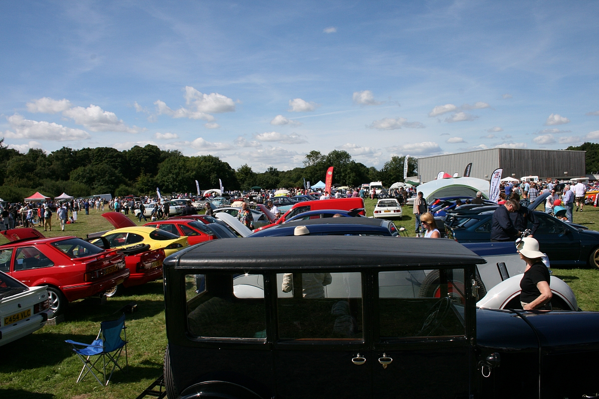 Kennet Valley TR Group supporting 26th Newbury Bloodwise Classic Car Show