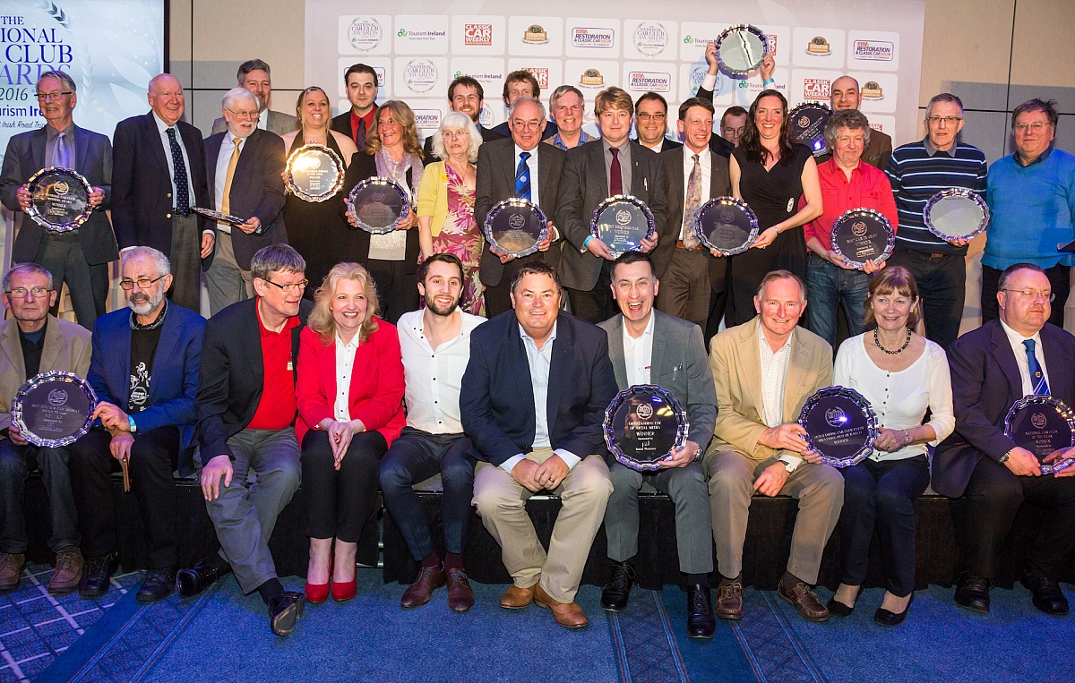 TR Register joins the finalists revealed for National Car Club Awards 2018