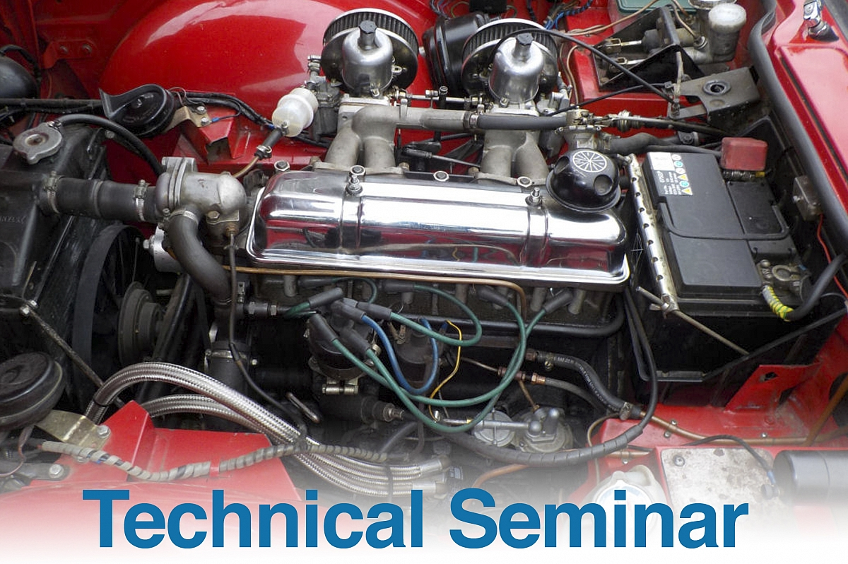 TR Register Technical Seminar - 4 cylinder engine rebuilds