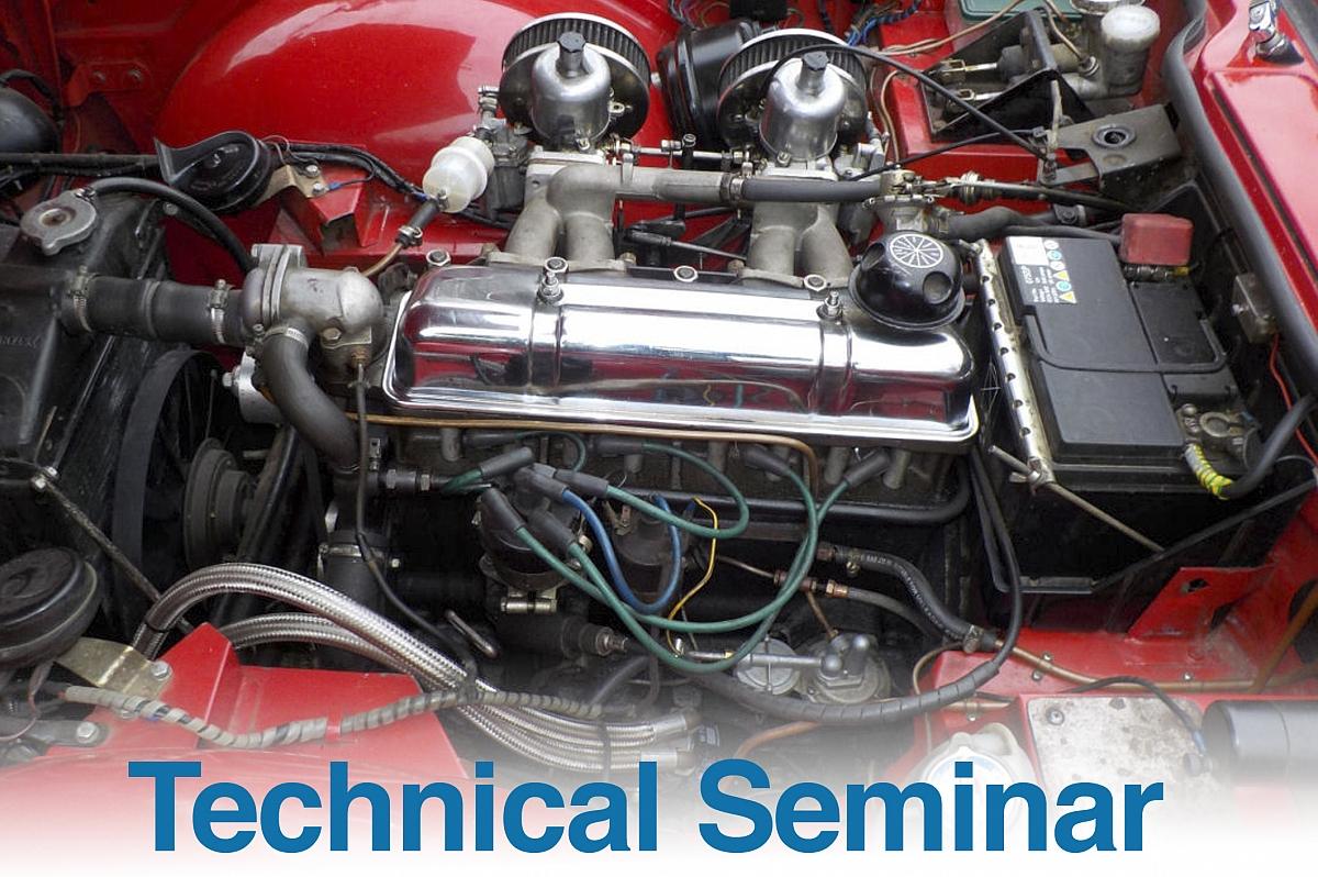 TR Register Technical Seminar - 4 cylinder engine rebuilds