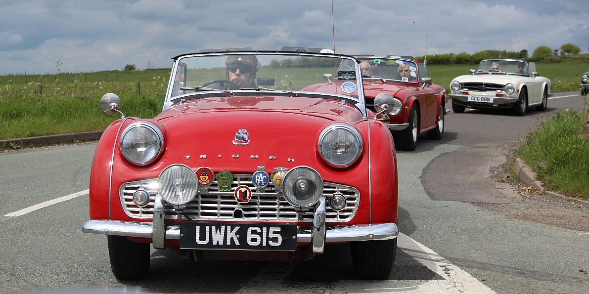 Derbyshire Dales 'Drive It Day' Run