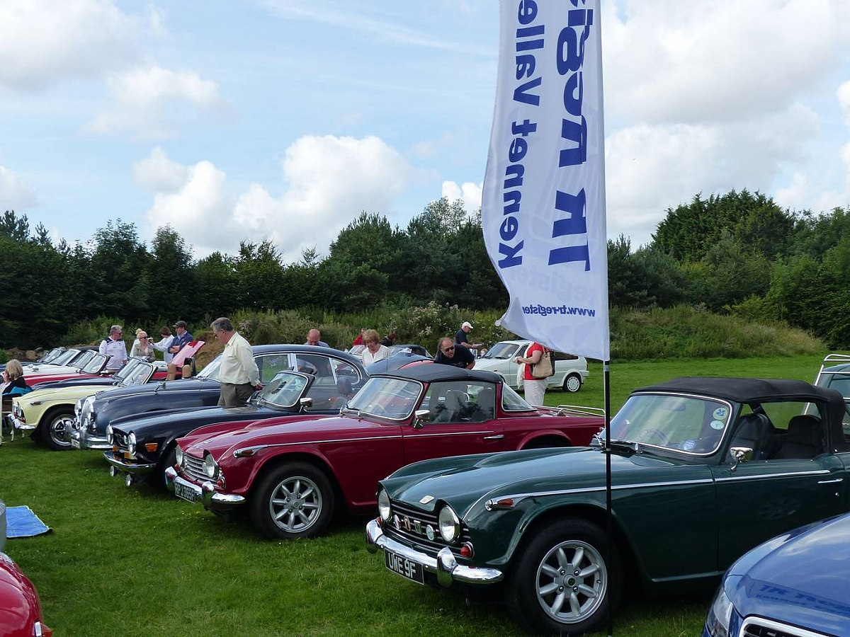 Kennet Valley and TR Groups invited to 'RAID' the Classic Car & MG Summer Picnic