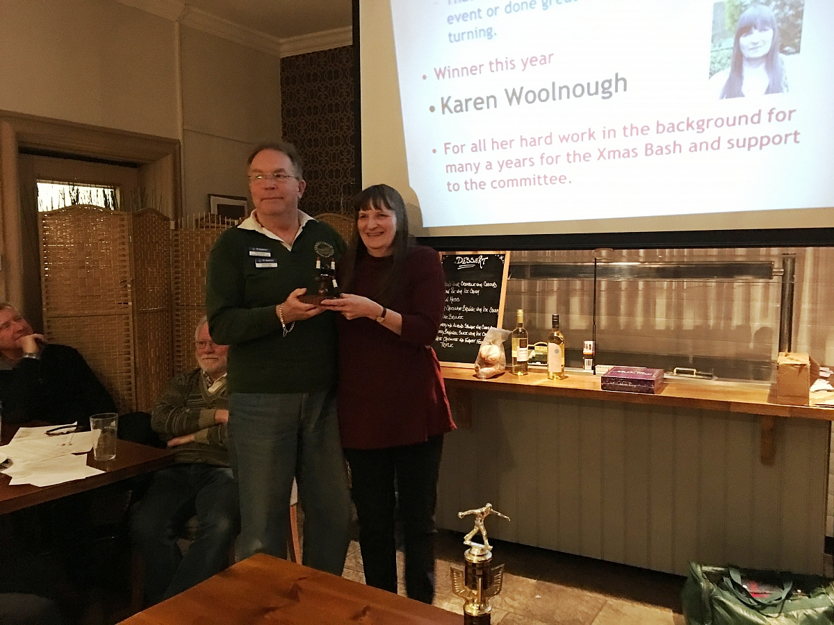 Kennet Valley TR Group Club Night & AGM