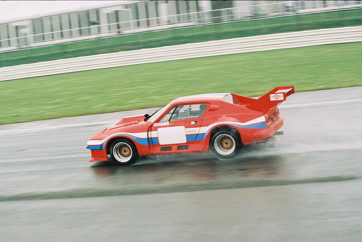Triumph TR8 Turbo Le Mans to raise thunder at the 76th Goodwood Road and Racing Club Members Meeting.