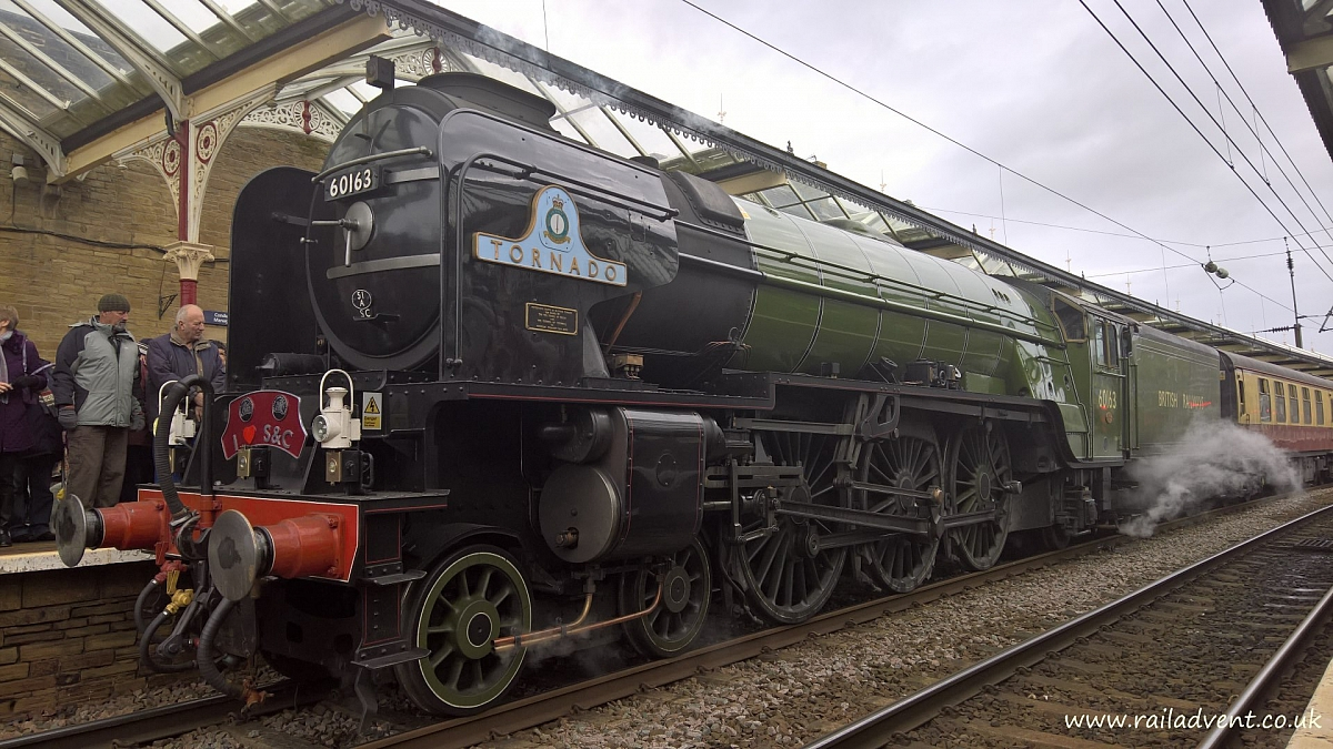 "Camb Followers- Proposed tour of Nene Valley Railway and ""Tornado"" locomotive"
