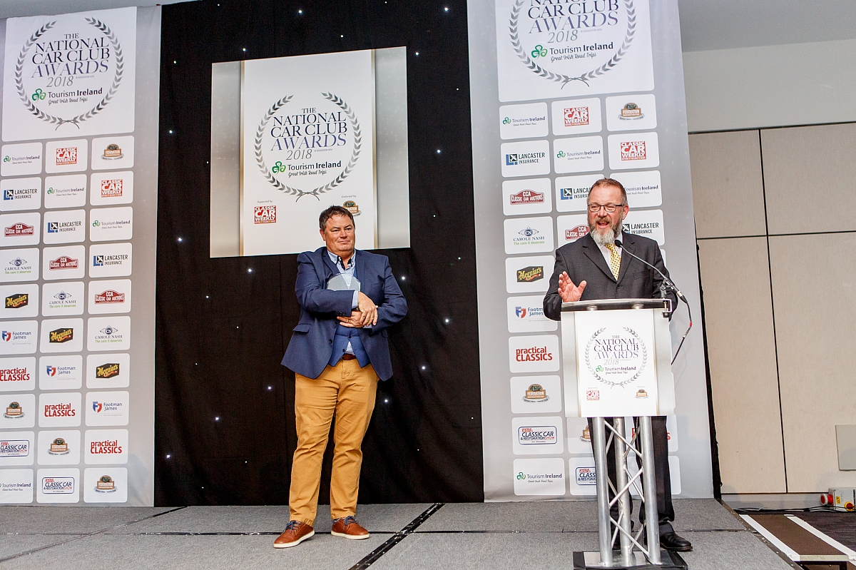 TR Register announced as National Car Club of the Year 2018