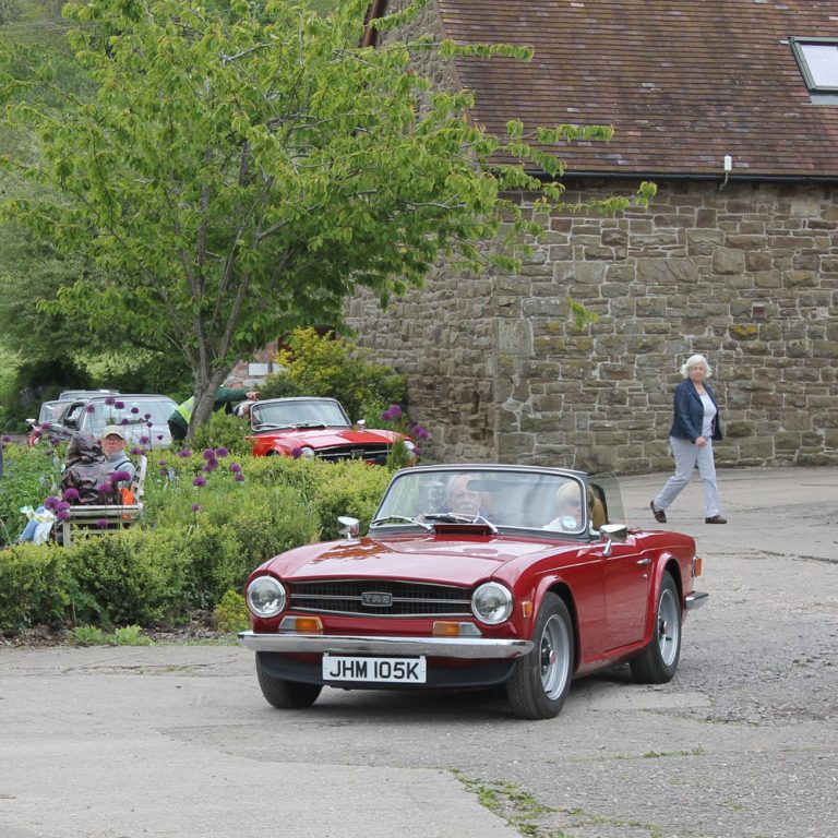 Shropshire Group's Run to the Eaton Manor Classic Car Show