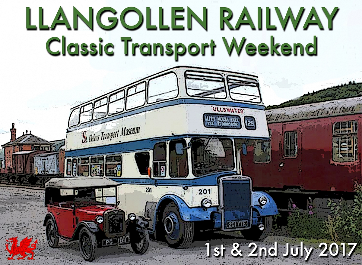 Shropshire Group's visit to Llangollen Transport Weekend