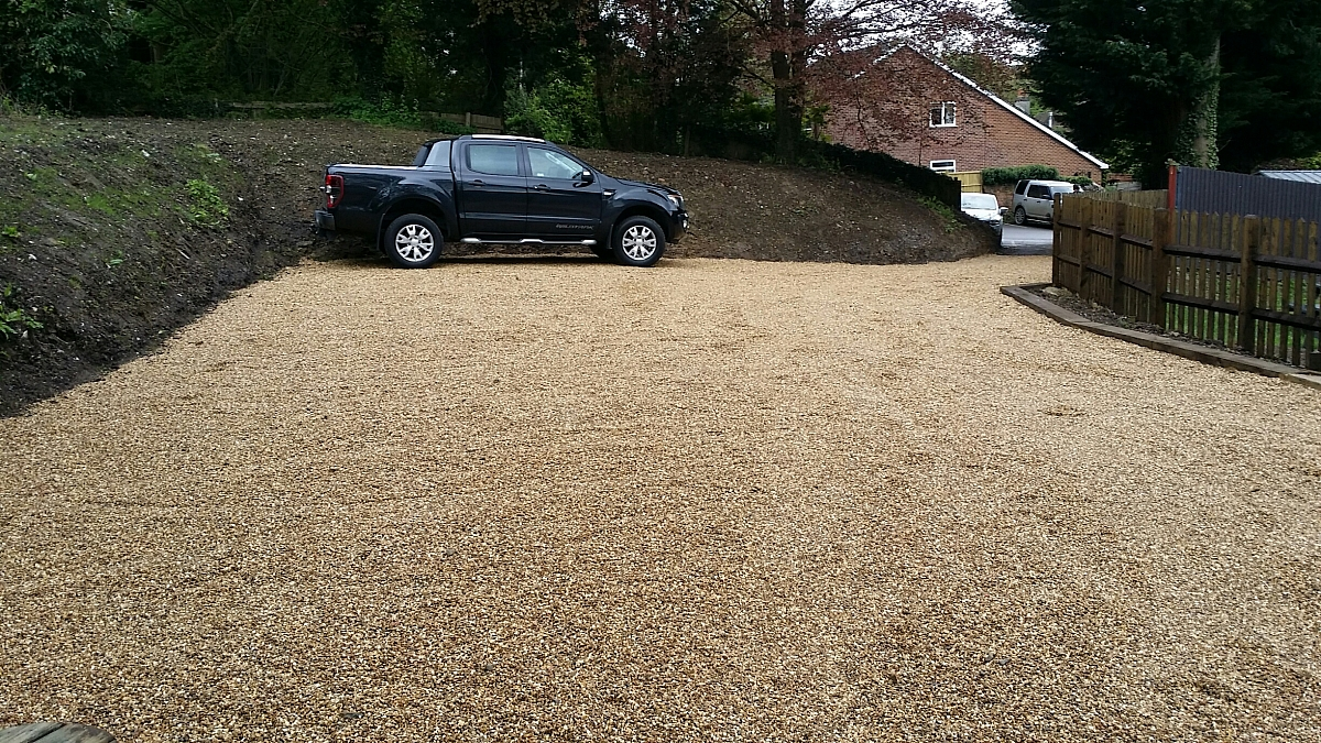 Kennet Valley TR Group Members get new CAR PARK at the Angel for May Club Night