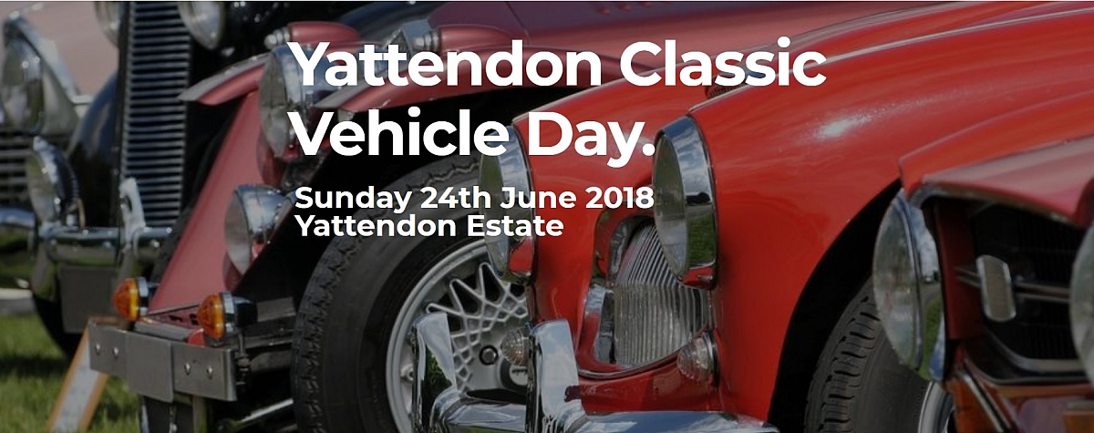 Kennet Valley TR Group June Mid Monthly option Yattendon Classic Vehicle Day