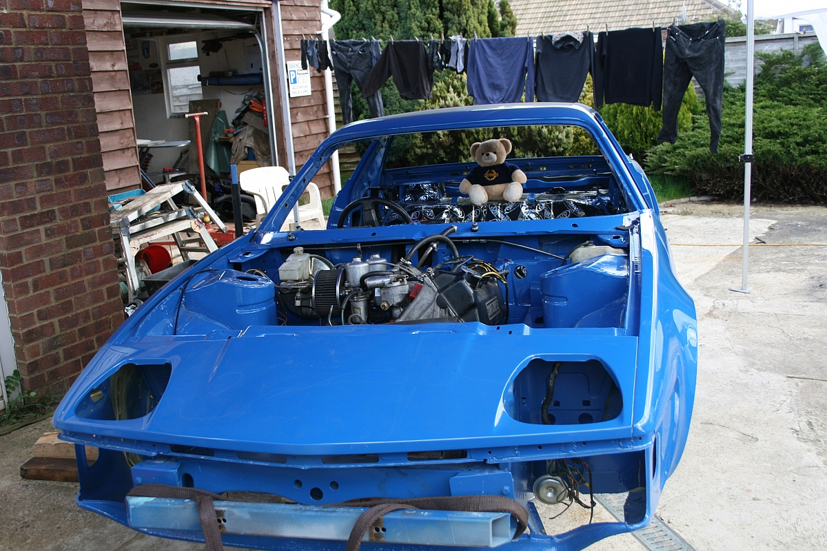Chris' TR7 Total Rebuild - Update