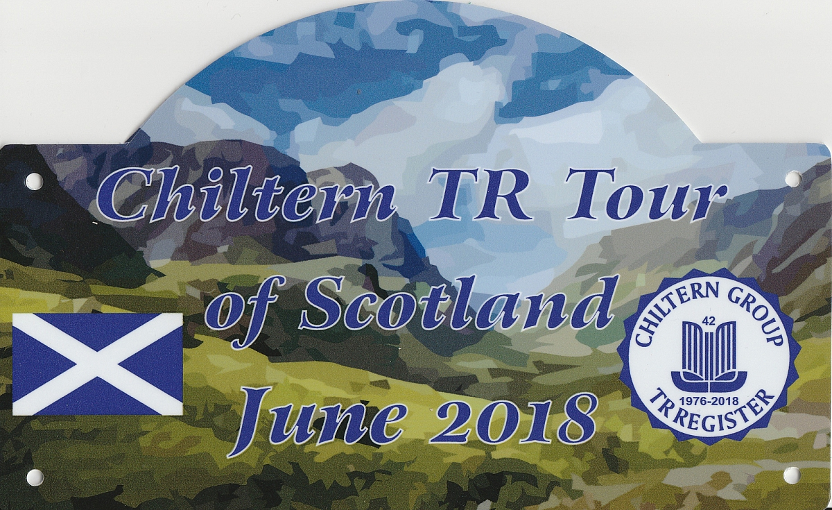 Chiltern TR Group Tour of Scotland