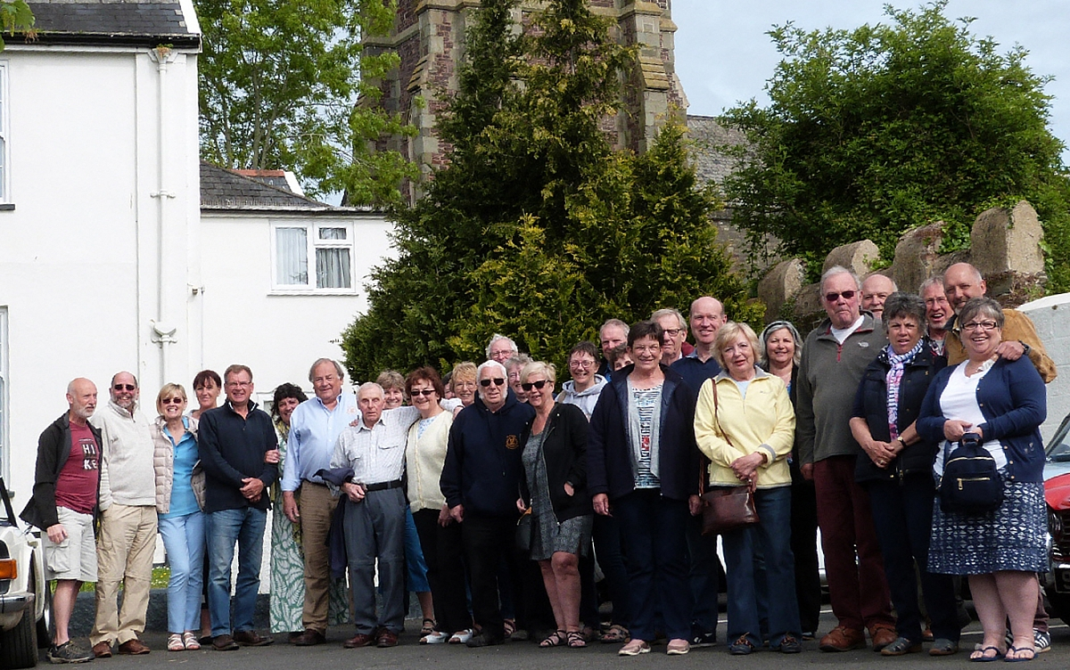 ​The Shropshire Group's Tour of North Devon  (In Search of Lorna Doone)  13th to 17th May 2018