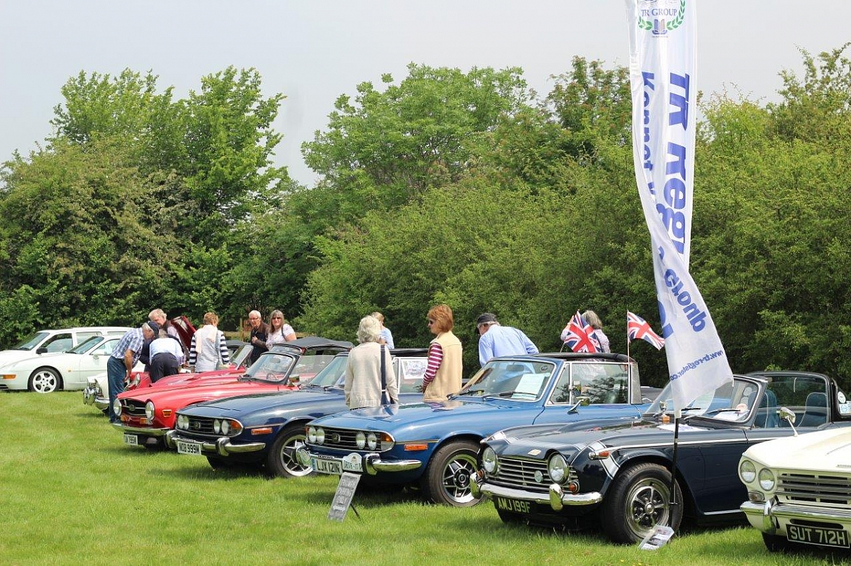 Kennet Valley TR Group June Mid Monthly - 11th Thatcham Summer Classic Car Show & My Pride & Joy Contest