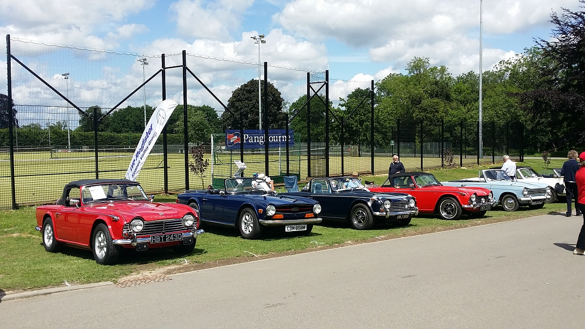 Kennet Valley TR Group put on a great display at Pangbourne College