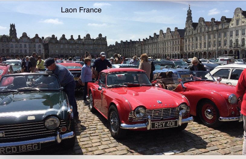TR members in Laon, France