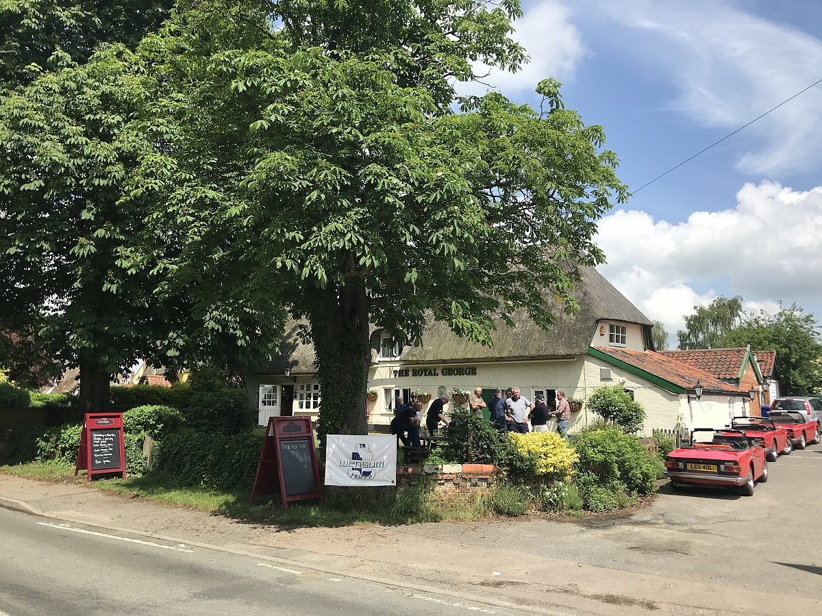Eastern Region Social Event - The Royal George, Barningham - 3rd June 2018.