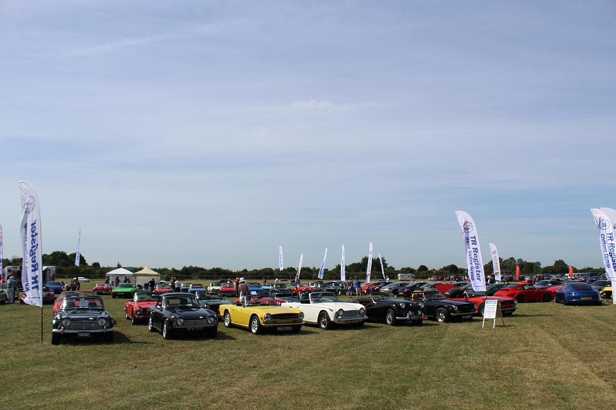 Super Day for 40 TR's at Classic & Motorsport Car Show Bicester