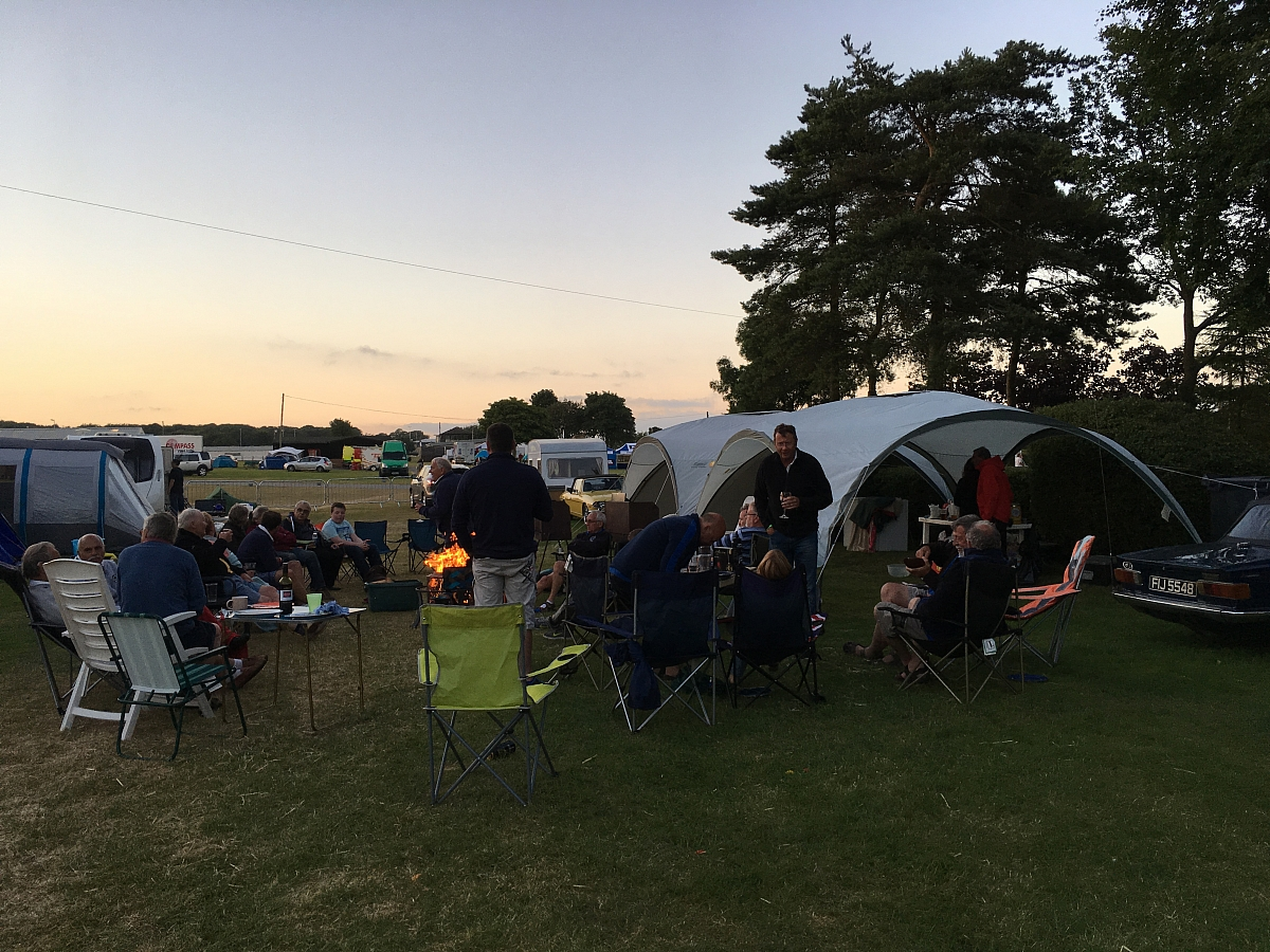 One of the best International Weekends for years - a Leicestershire TR Group report