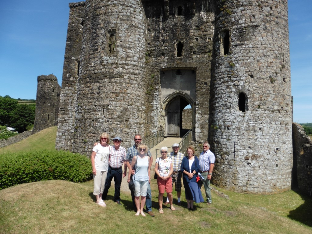 News update including our visits to Kidwelly Castle & Pembrey Country Park